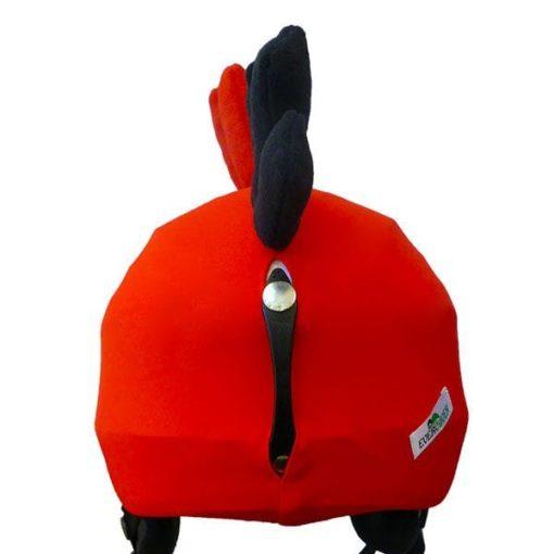 Evercover-funky-piros-madar-sisakhuzat-hatulja