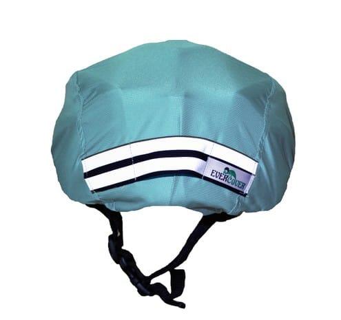Kék esővédő sisakhuzat
