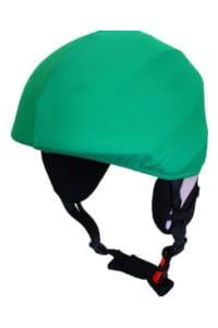 Zöld egyszínű sisakhuzat (univerzális méret)