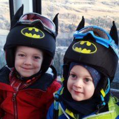 Evercover-batman sisakhuzat gyerkőcökön