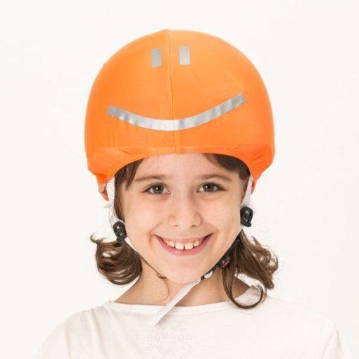 Evercover-narancs-reflektiv-smiley-sisakhuzat-modell