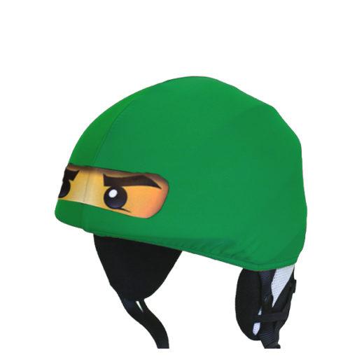 Zöld ninja sisakhuzat - 2D nyomtatott