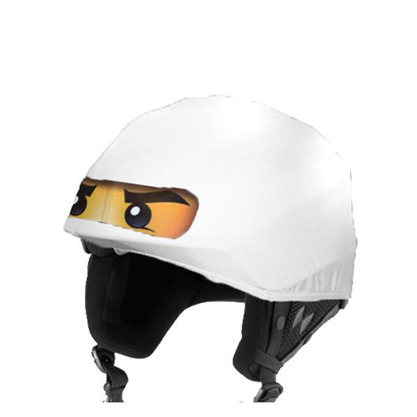 5c39193e1c Zane - Fehér ninja sisakhuzat (junior méret) - Evercover sisakhuzatok