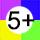 Öt vagy több szín