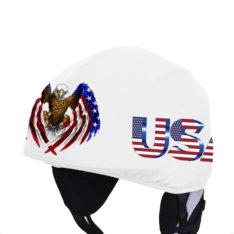 Usa zászló sassal_sisakhuzat