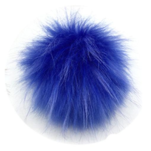 Kék pom-pom sisakhuzatra