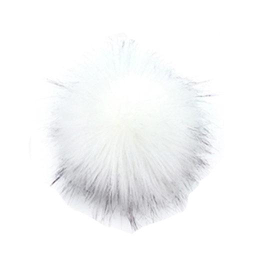 Fehér pom-pom sisakhuzatra