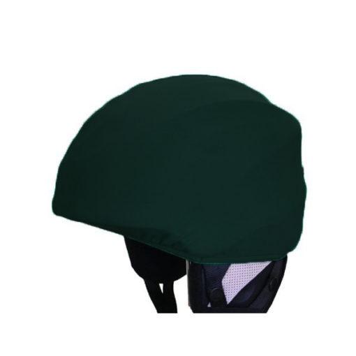 Sötétzöld sisakhuzat