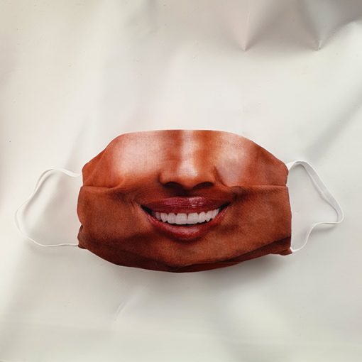 Afroamerikai női arcmaszk