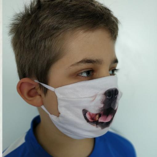 Kutyus arcmaszk