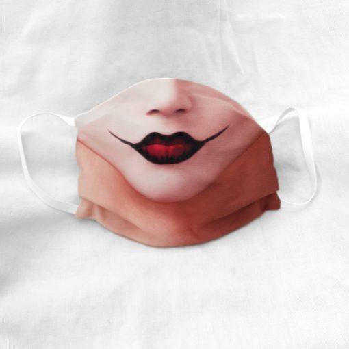 Harlequin arcmaszk