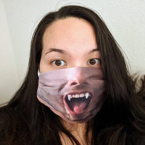 Vámpír arcmaszk