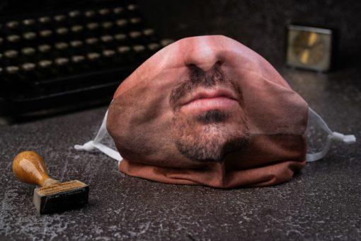 Férfi arcmaszk